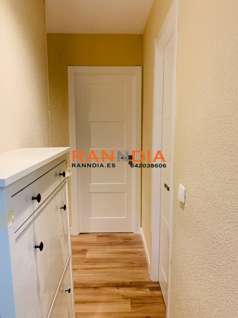 Puertas blancas lacadas Fuengirola